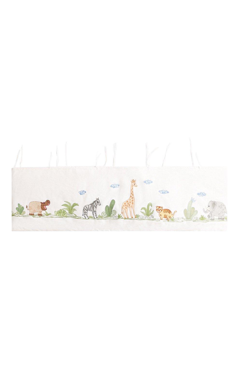 Детского борт для детской кроватки LORETTA CAPONI белого цвета, арт. 182K19238301701 | Фото 1