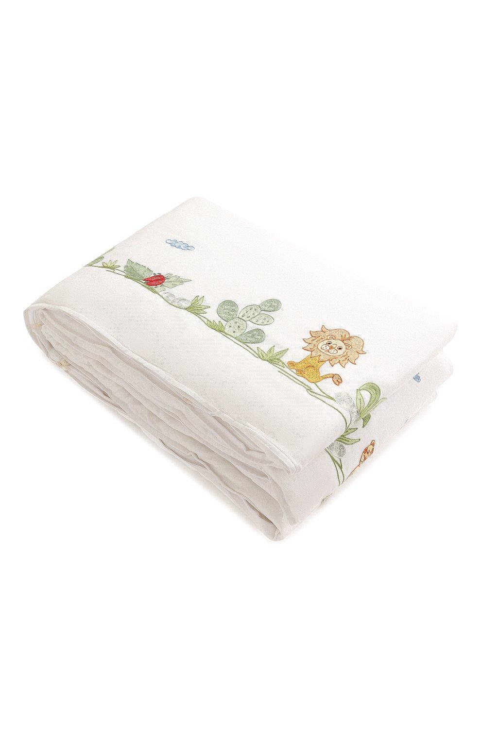 Детского борт для детской кроватки LORETTA CAPONI белого цвета, арт. 182K19238301701 | Фото 2