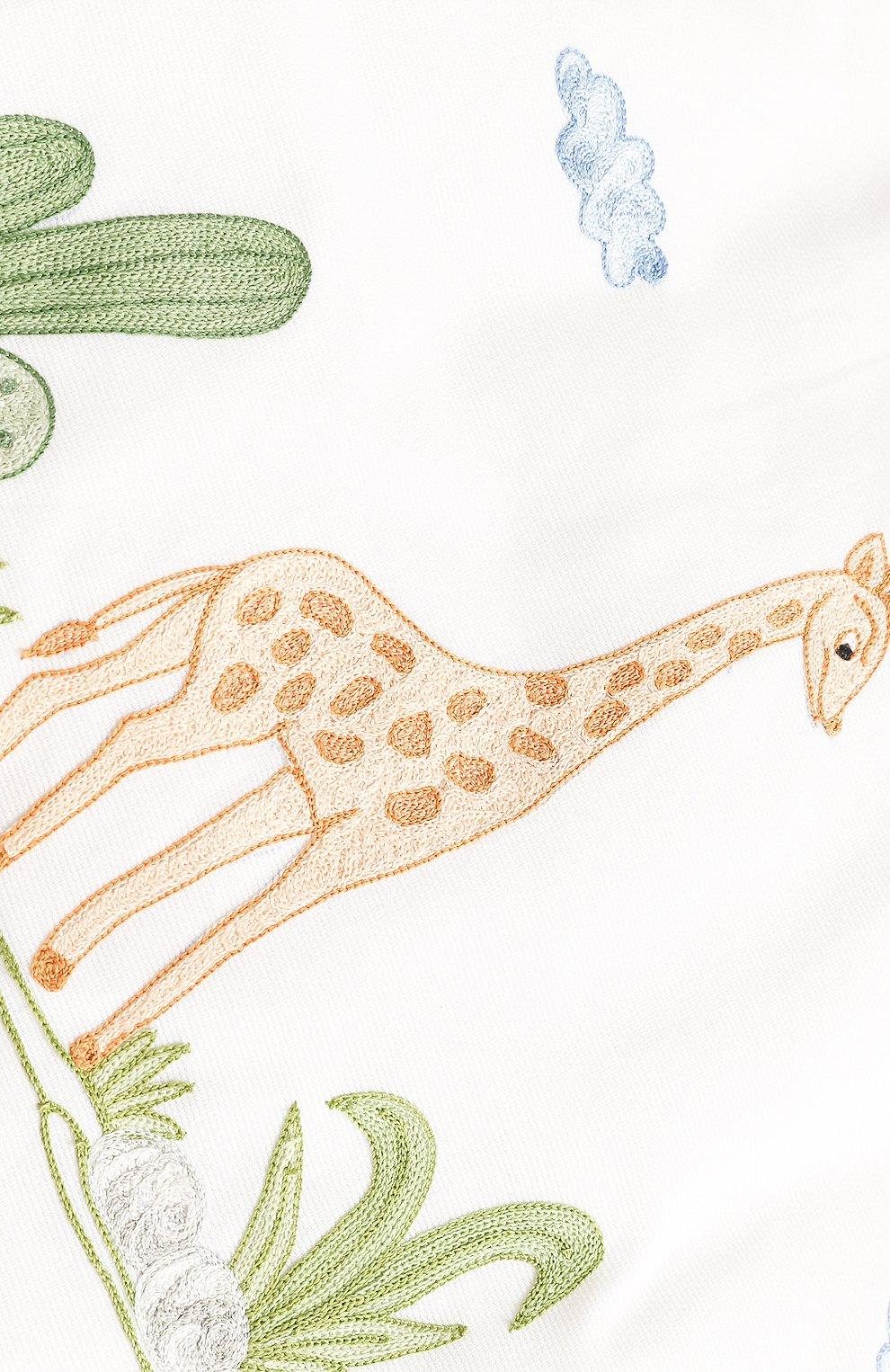 Детского борт для детской кроватки LORETTA CAPONI белого цвета, арт. 182K19238301701 | Фото 3