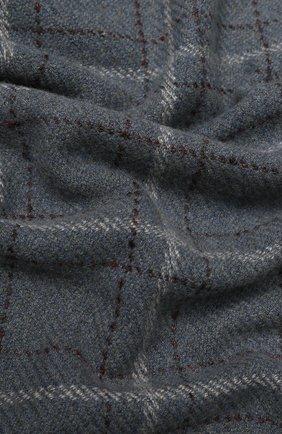 Мужской шарф из смеси кашемира и шелка LORO PIANA серого цвета, арт. FAI2437 | Фото 2