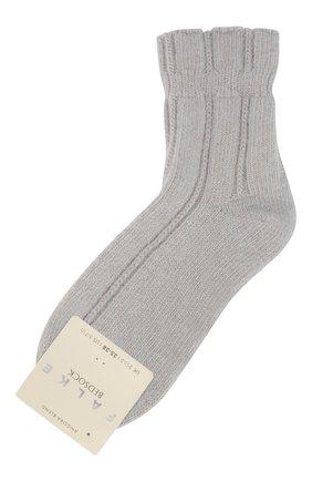 Женские носки bedsock FALKE серого цвета, арт. 47470_ | Фото 1