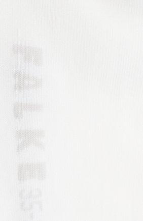 Женские хлопковые носки cotton touch FALKE белого цвета, арт. 47539_ | Фото 2