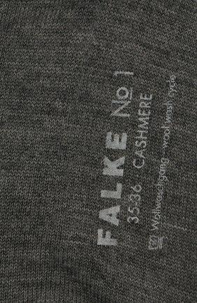 Женские носки no. 1 finest cashmere FALKE серого цвета, арт. 46591_ | Фото 2