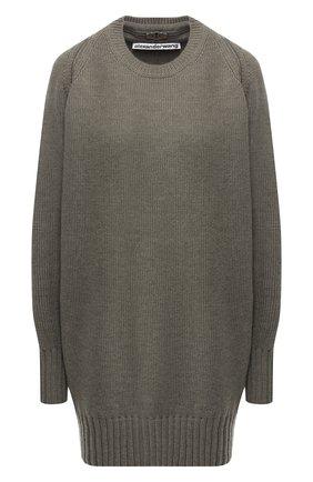 Шерстяной пуловер с молнией | Фото №1