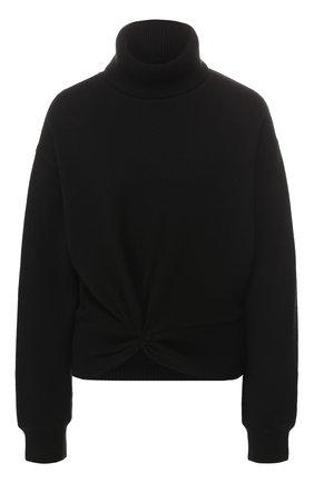 Шерстяной пуловер с высоким воротником | Фото №1