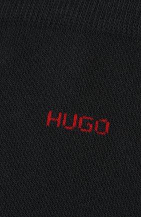 Мужские комплект из двух пар носков HUGO темно-синего цвета, арт. 50401984 | Фото 2