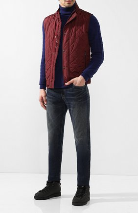 Мужские джинсы прямого кроя RRL синего цвета, арт. 782658897/MANUAL TREATMENT | Фото 2