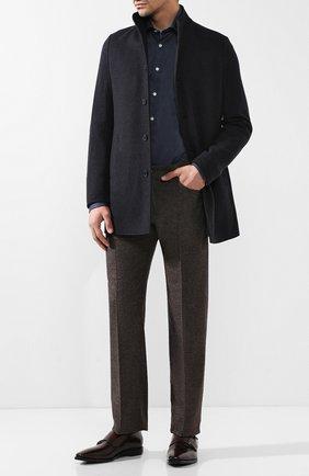 Мужские джинсы прямого кроя ANDREA CAMPAGNA коричневого цвета, арт. AC102/T70.6   Фото 2