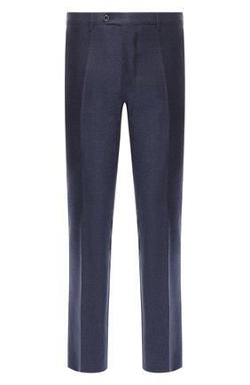 Мужские шерстяные брюки ANDREA CAMPAGNA темно-синего цвета, арт. SC/1/LP3249X | Фото 1