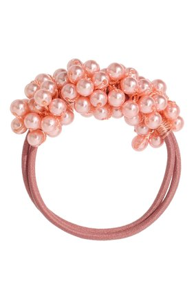 Детская резинка pearl JUNEFEE розового цвета, арт. 5155 | Фото 1