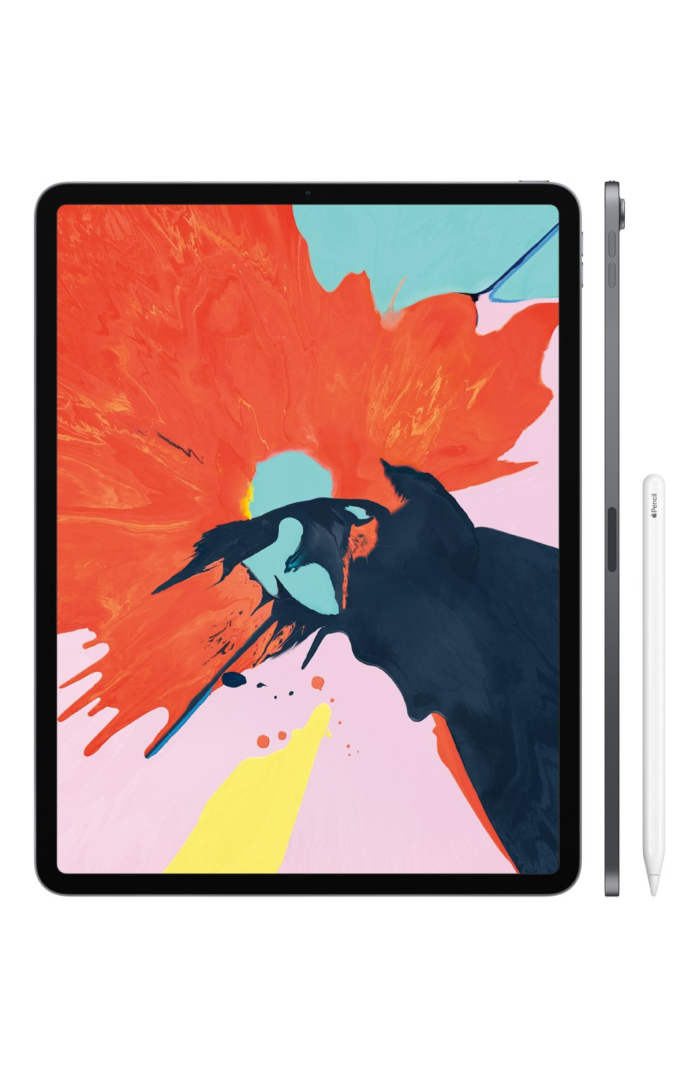 "iPad Pro 12.9"" Wi-Fi + Cellular 256GB Silver Apple  | Фото №3"