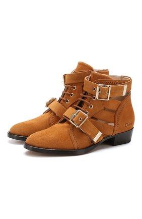 Замшевые ботинки Rylee | Фото №1