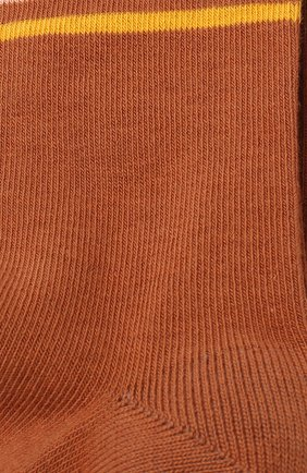 Детские хлопковые колготки CHLOÉ коричневого цвета, арт. C10253 | Фото 2