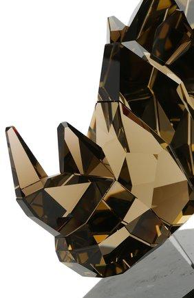 Мужского статуэтка rhinoceros SWAROVSKI желтого цвета, арт. 5136804 | Фото 4