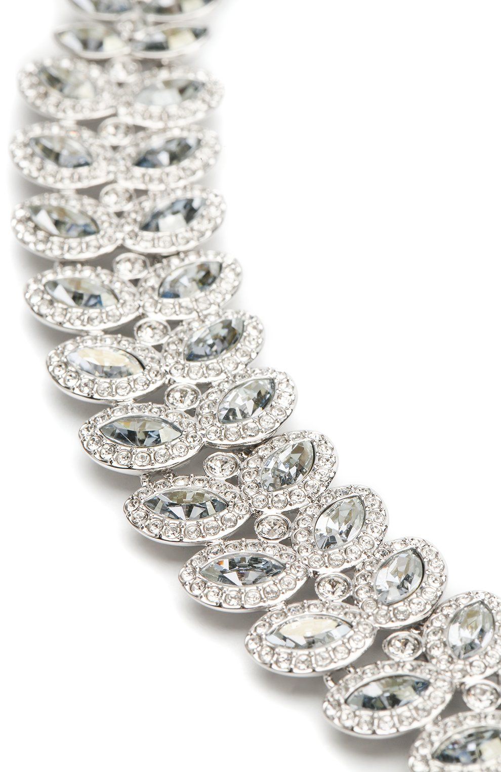 Женское ожерелье baron SWAROVSKI серебряного цвета, арт. 5117678 | Фото 3