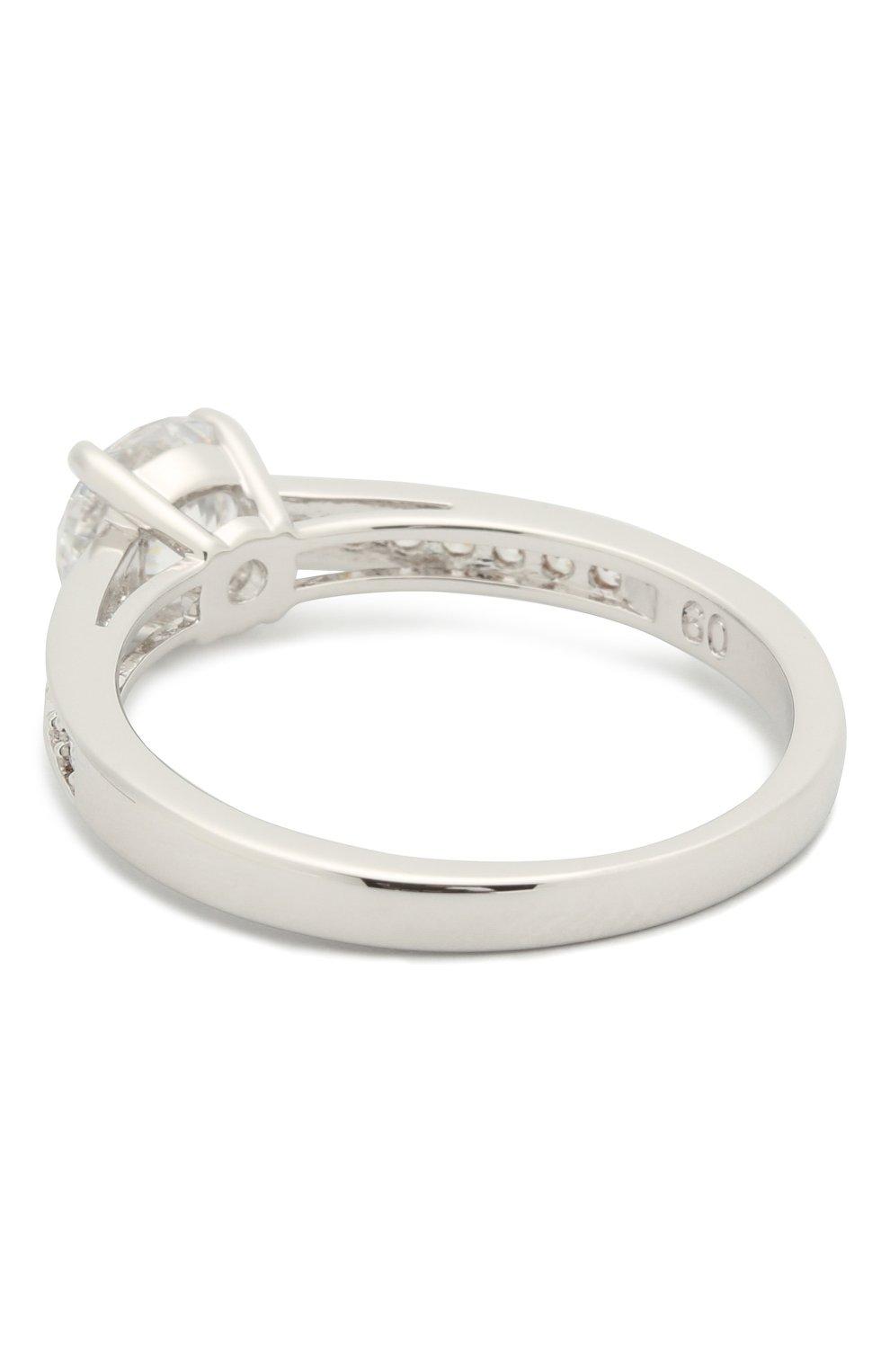 Женское кольцо attract round SWAROVSKI серебряного цвета, арт. 5032923 | Фото 2