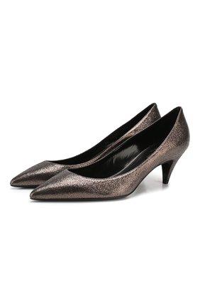 Кожаные туфли Charlotte | Фото №1