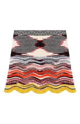 Шерстяная мини-юбка | Фото №1