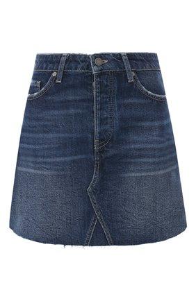 Джинсовая мини-юбка | Фото №1