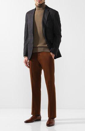 Мужские кожаные оксфорды BERLUTI коричневого цвета, арт. S4342-002 | Фото 2
