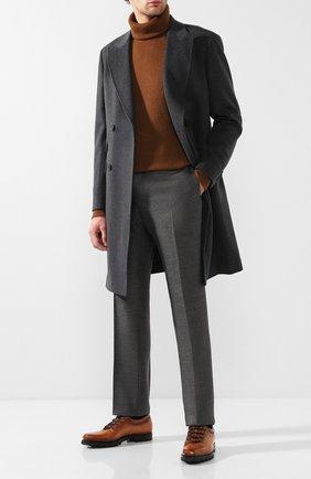 Мужские кожаные оксфорды BERLUTI коричневого цвета, арт. S3451-001 | Фото 2
