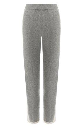 Кашемировые брюки с лампасами | Фото №1