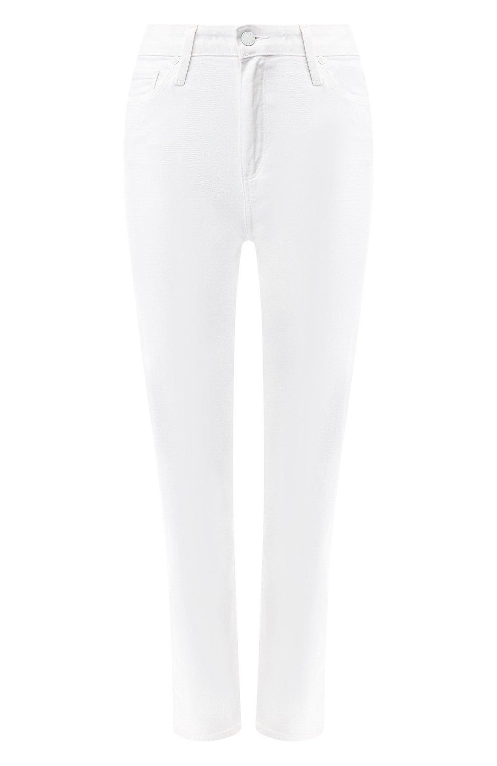Укороченные брюки из вискозы и хлопка | Фото №1