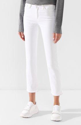Укороченные брюки из вискозы и хлопка | Фото №3