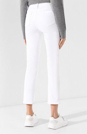 Укороченные брюки из вискозы и хлопка | Фото №4