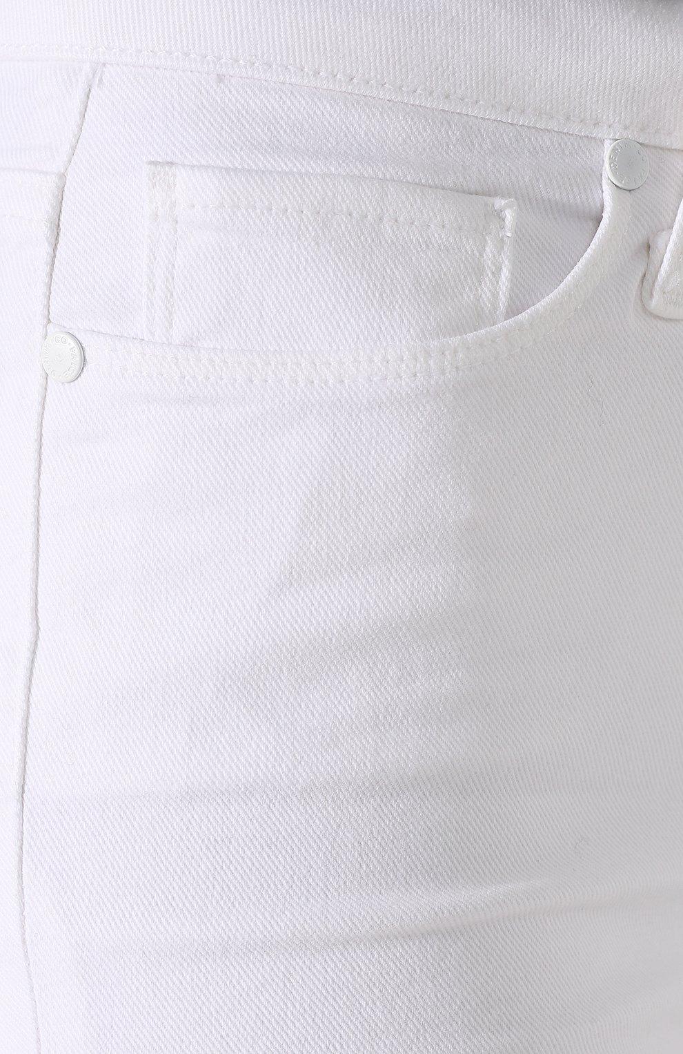 Укороченные брюки из вискозы и хлопка | Фото №5