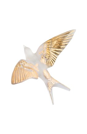 Мужского скульптура hirondelles LALIQUE золотого цвета, арт. 10645900 | Фото 1