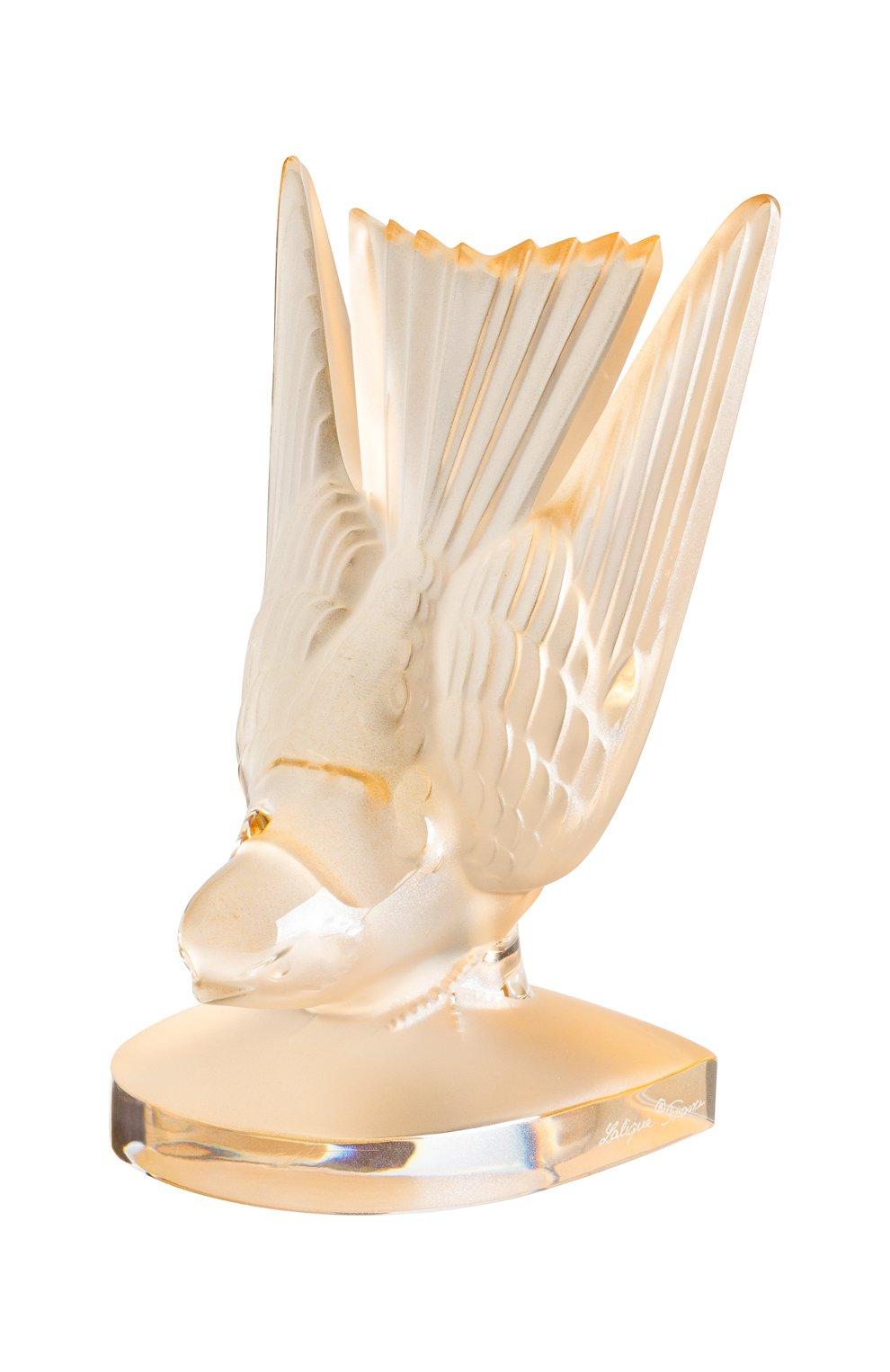 Пресс-папье hirondelles LALIQUE золотого цвета, арт. 10646400 | Фото 1 (Ограничения доставки: fragile-2; Статус проверки: Проверена категория)