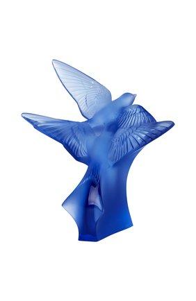 Мужского скульптура 2 hirondelles LALIQUE синего цвета, арт. 10646700 | Фото 1