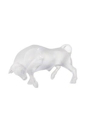 Мужского скульптура bull LALIQUE прозрачного цвета, арт. 10647700 | Фото 1