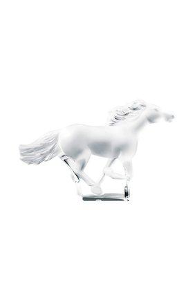 Мужского скульптура kazak horse  LALIQUE прозрачного цвета, арт. 1204800 | Фото 1