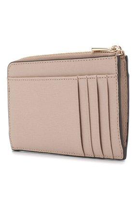 Женский кожаный футляр для кредитных карт babylon FURLA бежевого цвета, арт. PR75/B30 | Фото 2