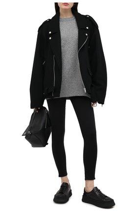 Женские джинсы-скинни 7 FOR ALL MANKIND черного цвета, арт. JSCCA220LJ | Фото 2