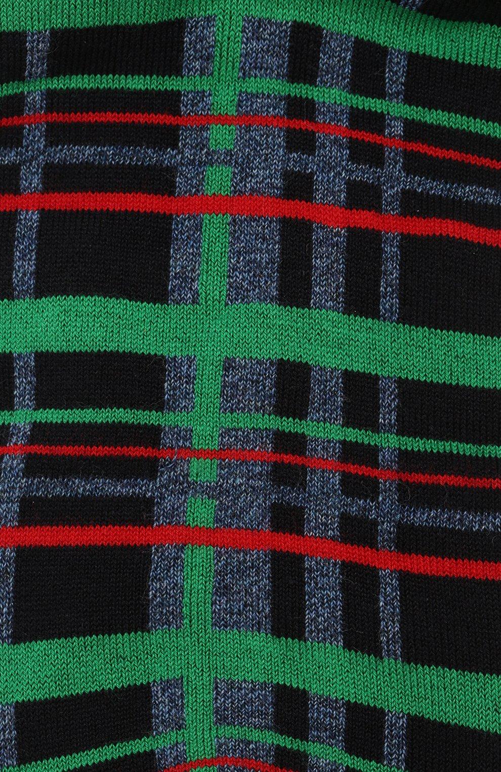 Мужские хлопковые носки COLLIROSSI синего цвета, арт. UFI4050-29/1   Фото 2