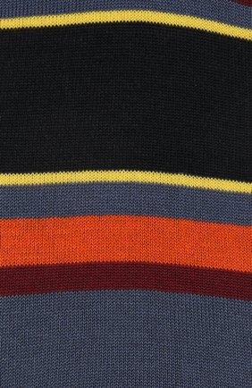 Мужские хлопковые носки COLLIROSSI желтого цвета, арт. UFI4040-5/1 | Фото 2