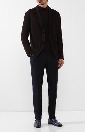 Мужские кожаные пенни-лоферы BERLUTI темно-синего цвета, арт. S4392-003 | Фото 2