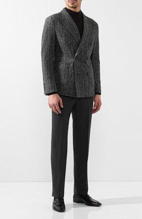 Мужские кожаные пенни-лоферы BERLUTI черного цвета, арт. S4392-001 | Фото 2