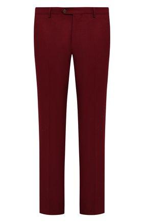 Мужские шерстяные брюки ANDREA CAMPAGNA красного цвета, арт. SC/1/VB1827 | Фото 1