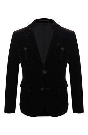 Мужской пиджак из вискозы GIORGIO ARMANI коричневого цвета, арт. 8WGGG02T/T0025   Фото 1 (Длина (для топов): Стандартные; Рукава: Длинные; 1-2-бортные: Однобортные; Пиджаки М: Приталенный; Стили: Классический)