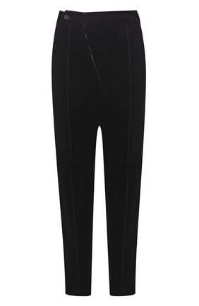 Мужской брюки из вискозы GIORGIO ARMANI коричневого цвета, арт. 8WGPP017/T0025 | Фото 1