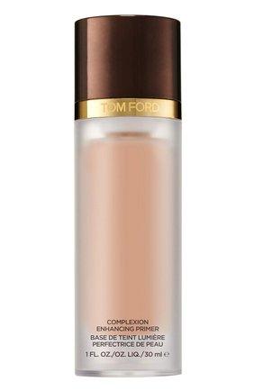 Женские увлажняющий праймер complexion enhancing primer, оттенок 01 pink glow TOM FORD бесцветного цвета, арт. T3RR-01 | Фото 1