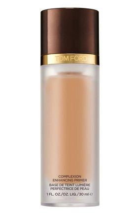 Женские увлажняющий праймер complexion enhancing primer, оттенок 02 peach glow TOM FORD бесцветного цвета, арт. T3RR-02 | Фото 1