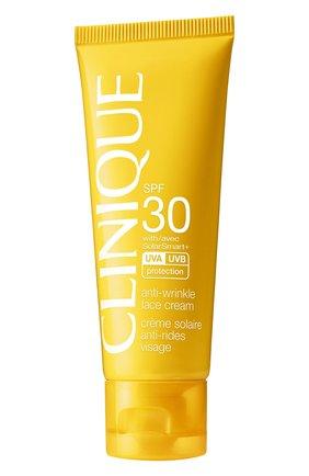 Женский солнцезащитный крем для лица face cream hybrid spf 30 CLINIQUE бесцветного цвета, арт. ZPYH-01 | Фото 1