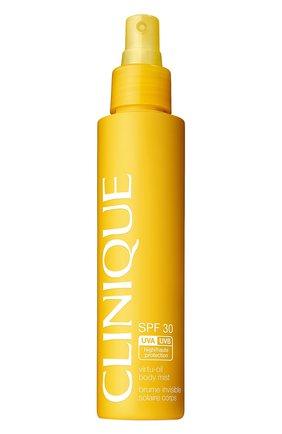 Женский солнцезащитный спрей для тела virtu oil body mist spf 30 CLINIQUE бесцветного цвета, арт. ZPYK-01 | Фото 1
