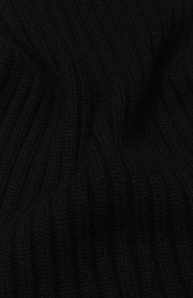 Мужские кашемировый шарф  DOLCE & GABBANA черного цвета, арт. I616KW/JAWMU | Фото 2