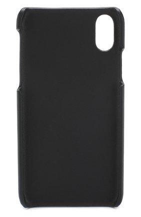 Мужской кожаный чехол для iphone x BOTTEGA VENETA темно-синего цвета, арт. 522706/V001N | Фото 2